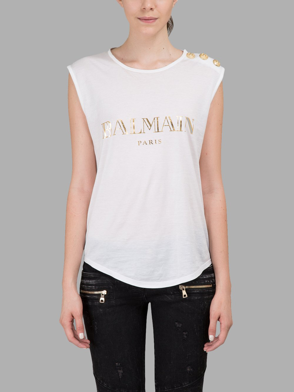 balmain t shirts. Black Bedroom Furniture Sets. Home Design Ideas