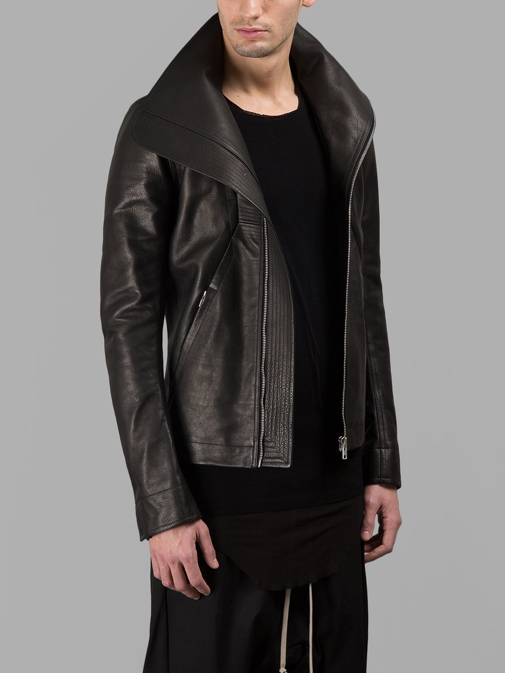 Rick Owens - Leather Jackets - Antonioli.eu