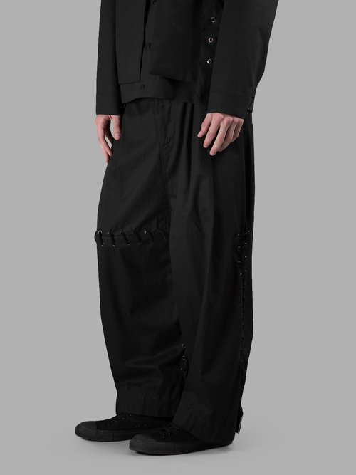 LACEDTRACKPANT BLACK image