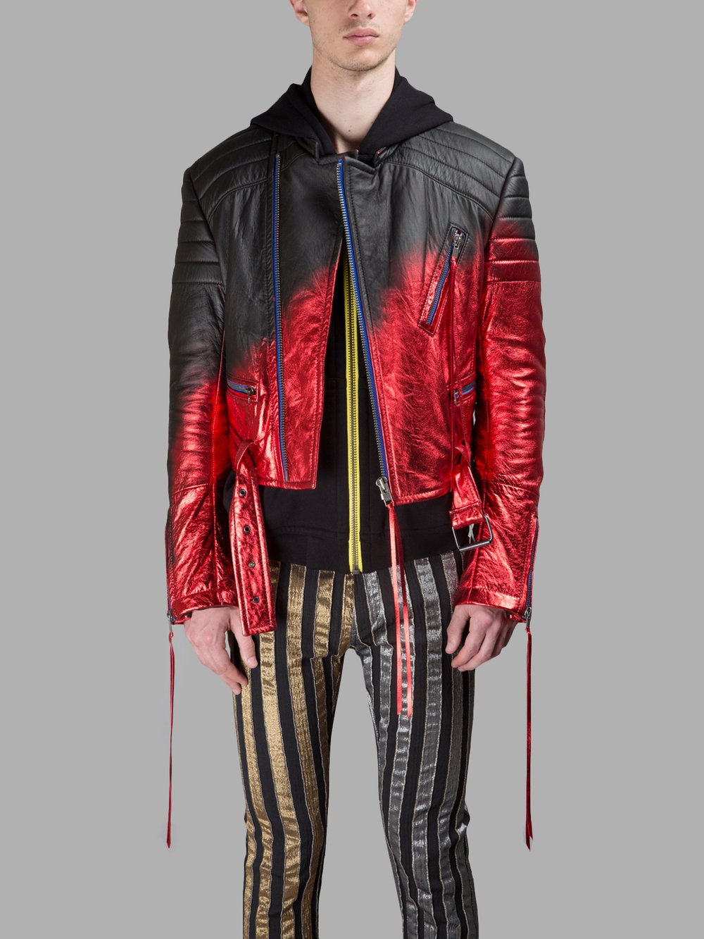 HAIDER ACKERMANN LEATHER JACKETS