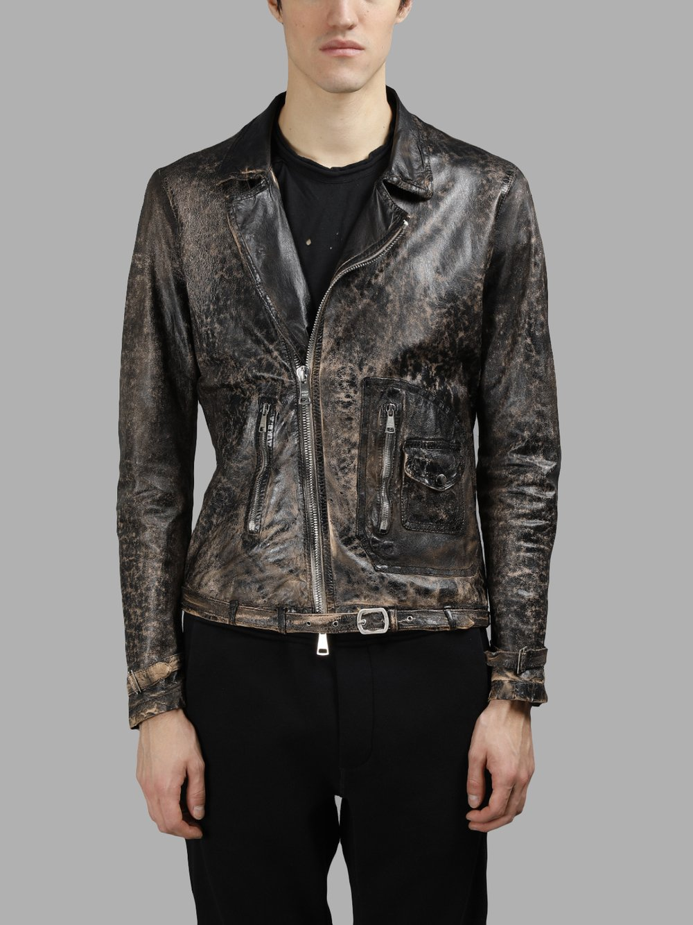 GIORGIO BRATO LEATHER JACKETS
