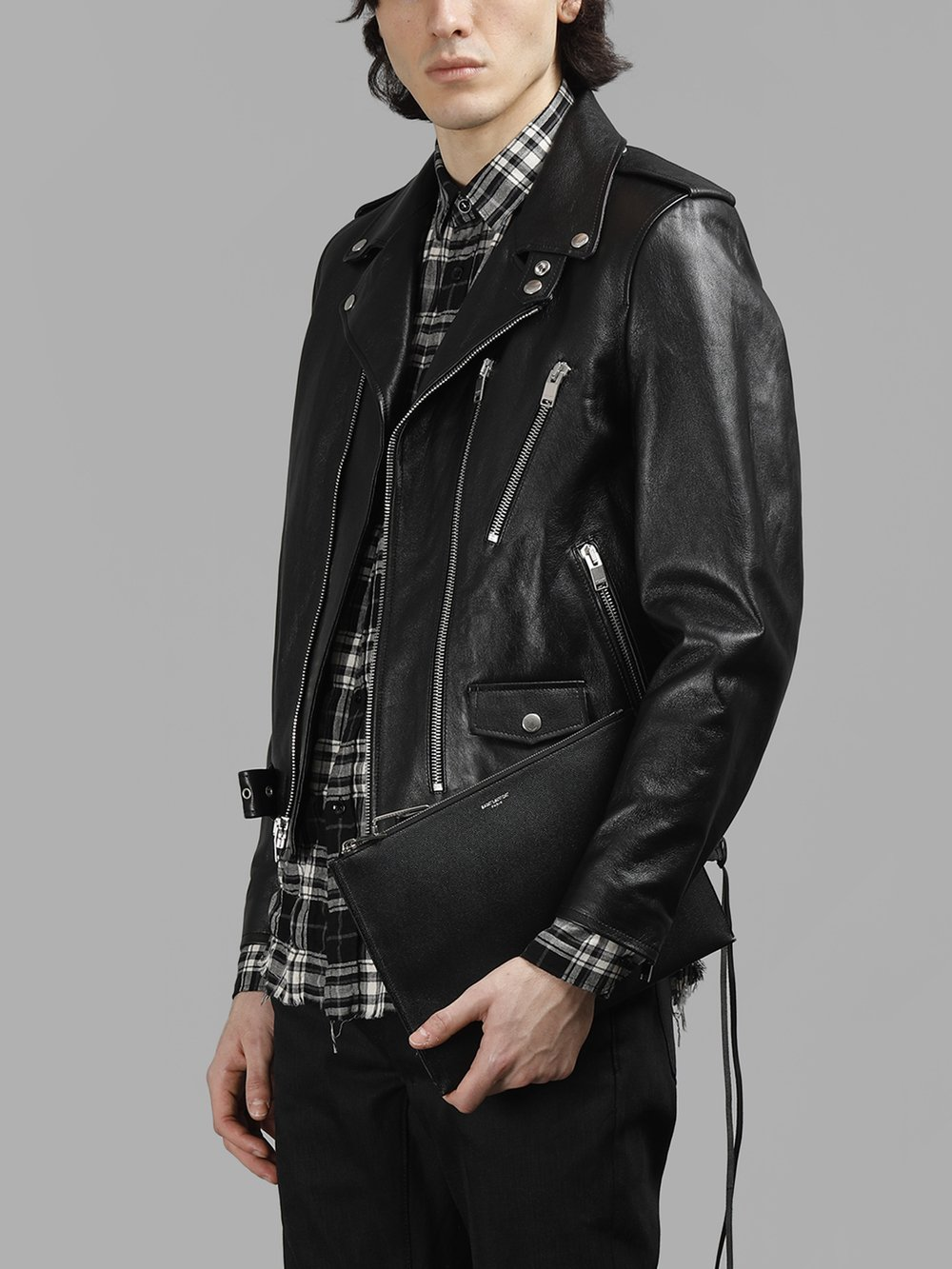 SAINT LAURENT PARIS LEATHER JACKETS