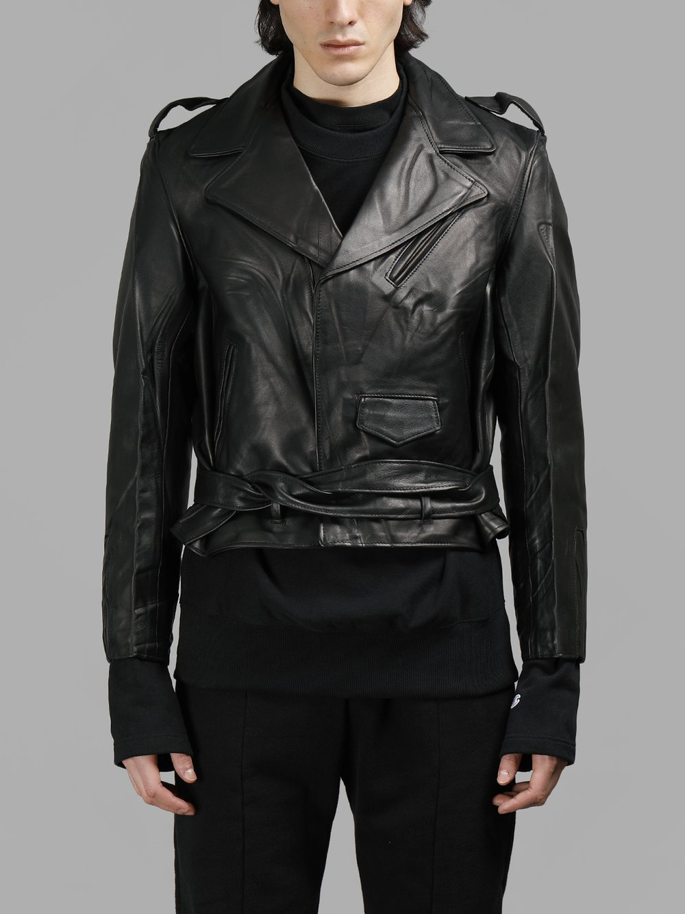VETEMENTS LEATHER JACKETS