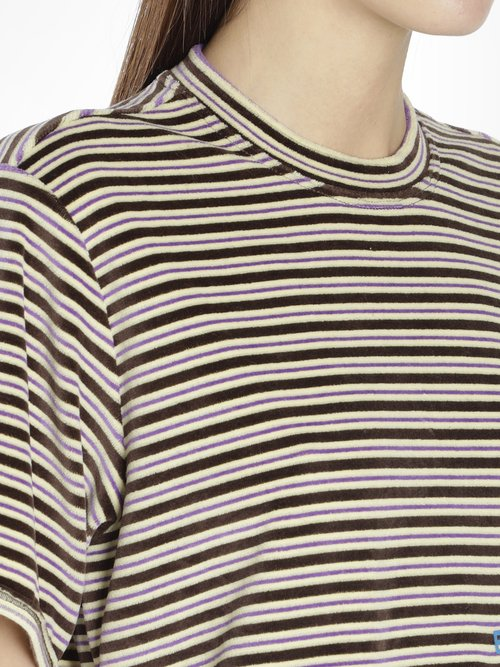 STRIPE LAPPED TEE
