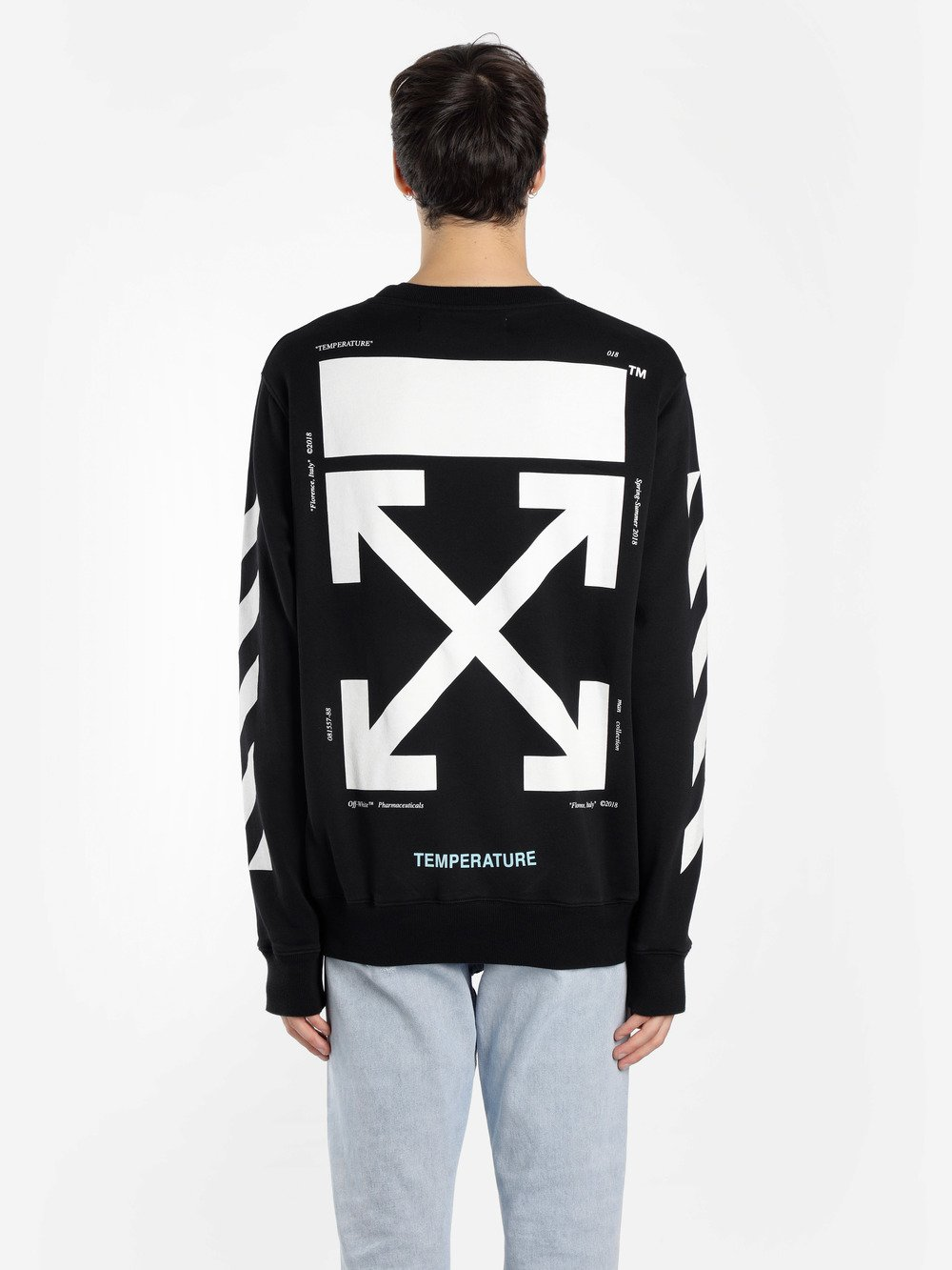 Abloh Antonioli White eu Co Virgil Off Sweaters wZUpqx